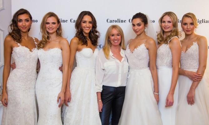 Caroline Castigliano Designer Wedding Dresses Dorchester
