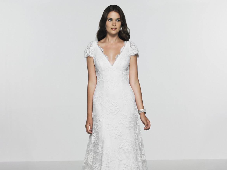 Exclusive wedding dress sample sale at caroline for Wedding dress warehouse sale