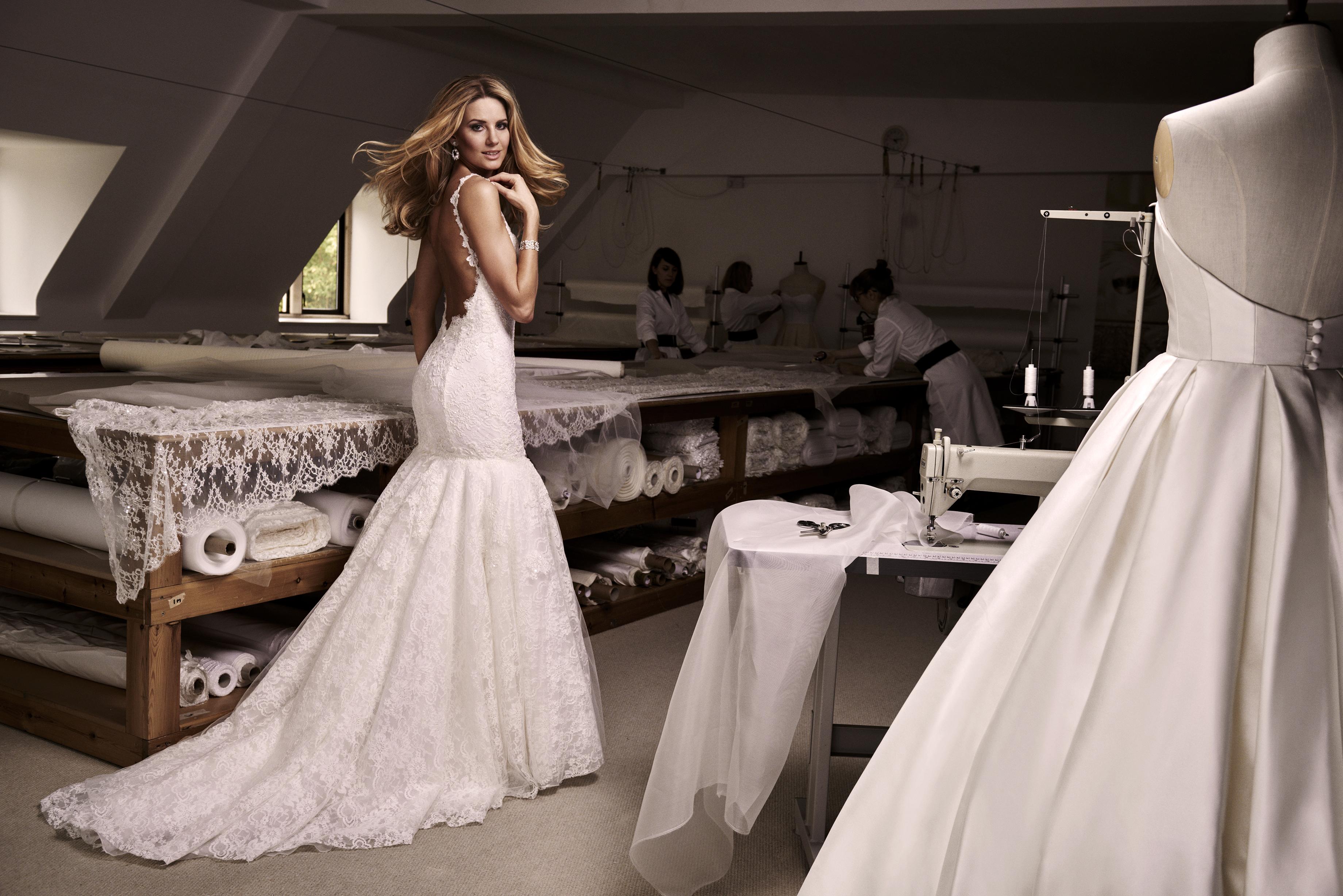 Valentina designer wedding dresses by Caroline Castigliano