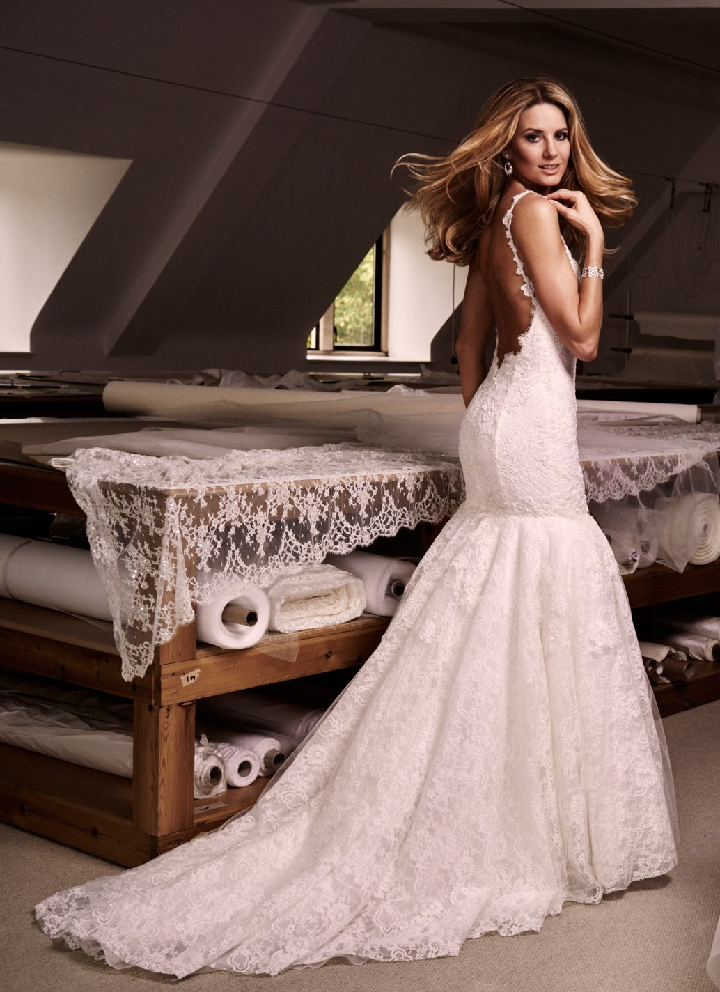 Finding the right wedding dress for your body caroline for Wedding dresses for big hips
