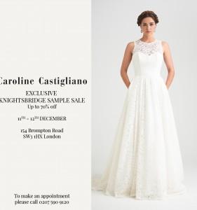Caroline Castigliano Sample Sale