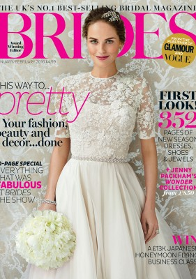 Brides Magazine Cover
