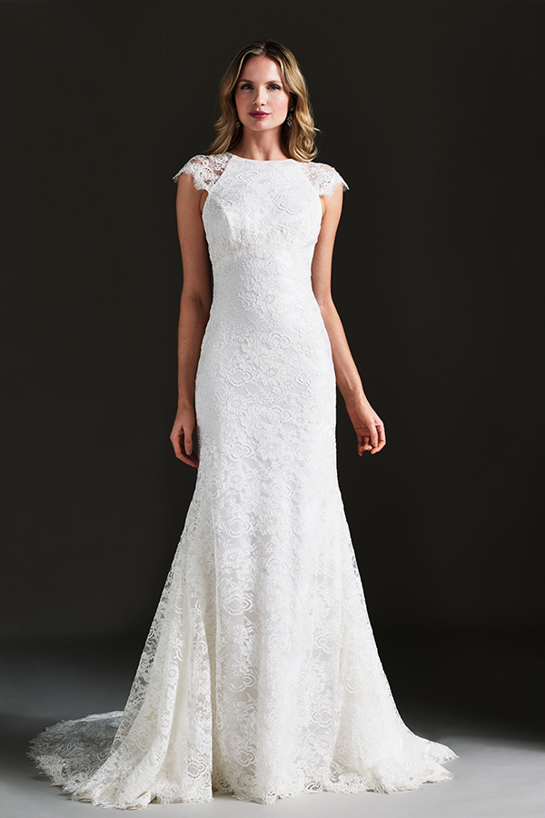 Finding the right wedding dress for your body caroline for Giles deacon wedding dresses