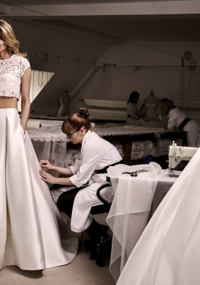 Anya and Angelika designer wedding dresses by Caroline Castigliano
