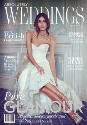 Absolutely Weddings designer wedding dresses by Caroline Castigliano