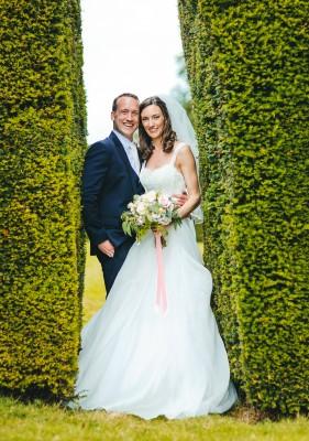 Helen & Andrew 10 designer wedding dresses by Caroline Castigliano