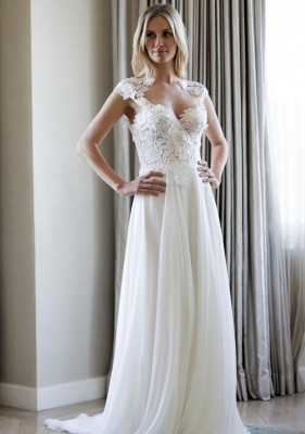 Morning designer wedding dresses by Caroline Castigliano