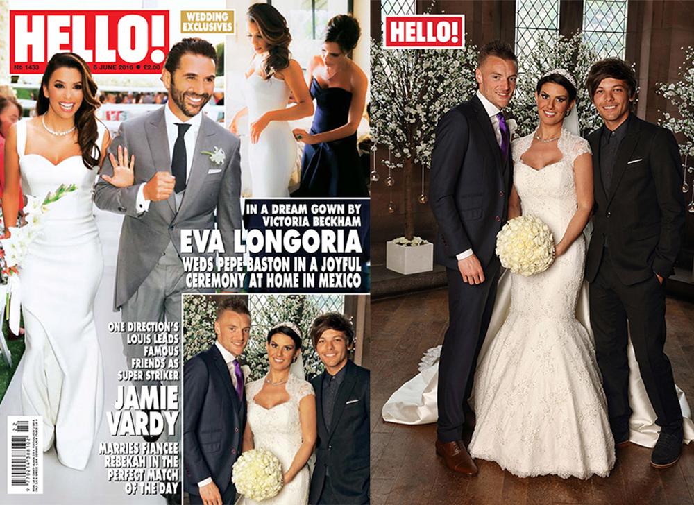 Jamie Vardy Amp Rebekah Nicholsons Beautiful Wedding
