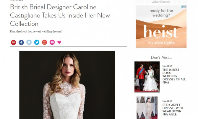 MARTHA STEWART WEDDINGS CAROLINE CASTIGLIANO