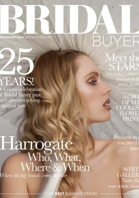 Bridal Buyer cover Caroline Castigliano