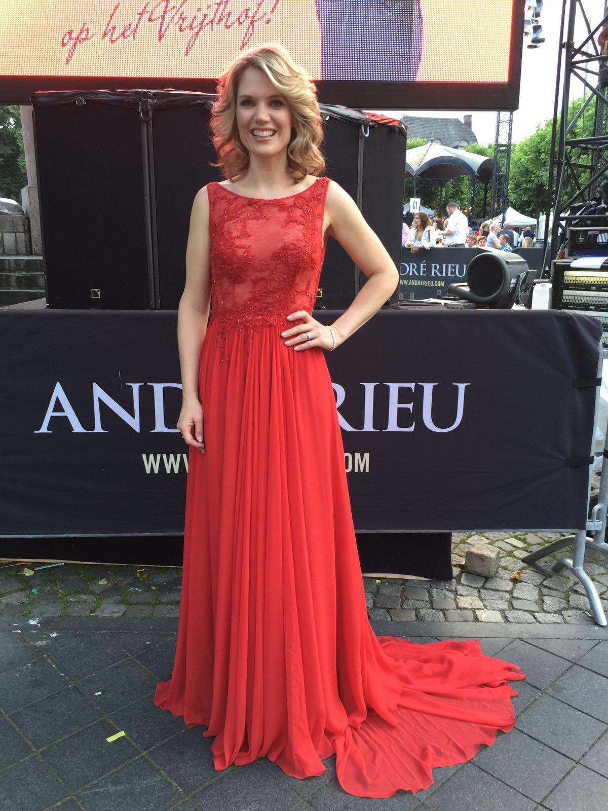 Designer evening dresses by Caroline Castigliano