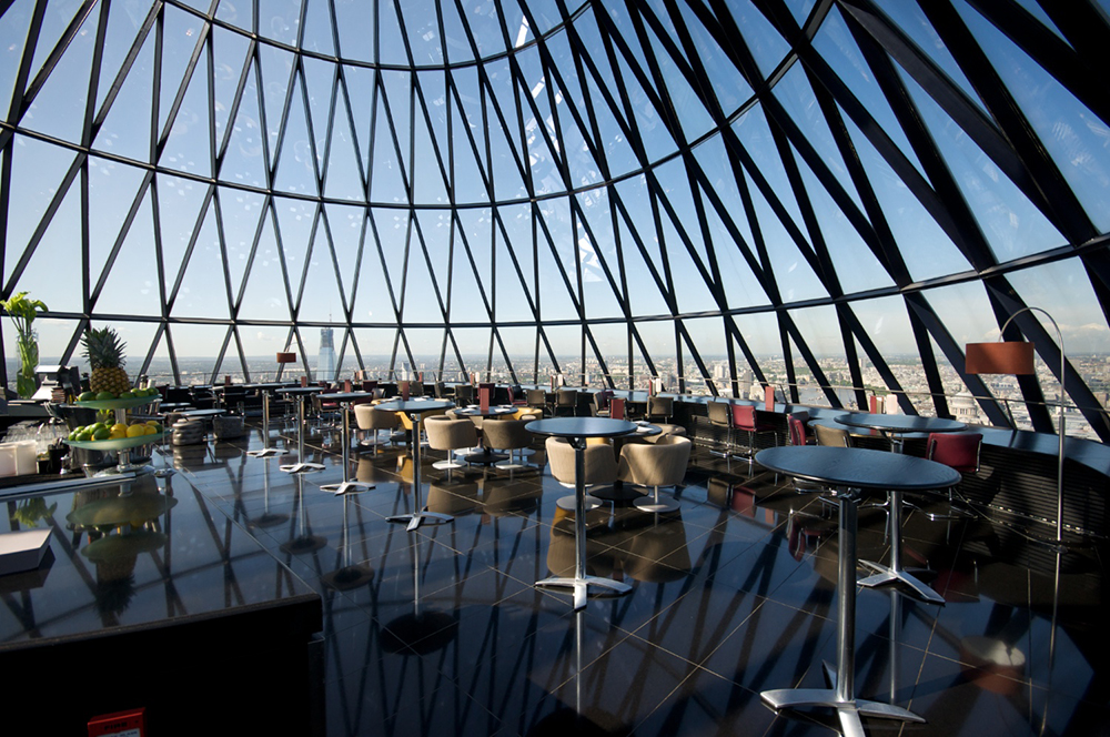 The Gherkin Caroline Castigliano wedding