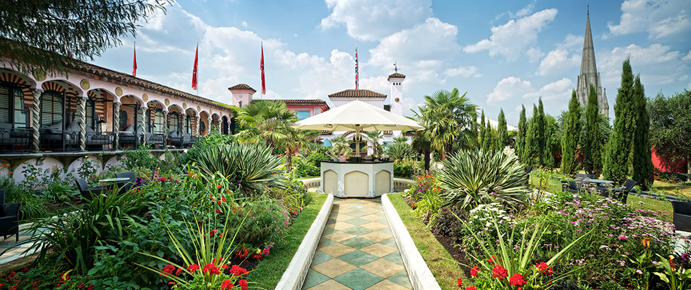Kensington Roof Gardens Caroline Castigliano Weddings