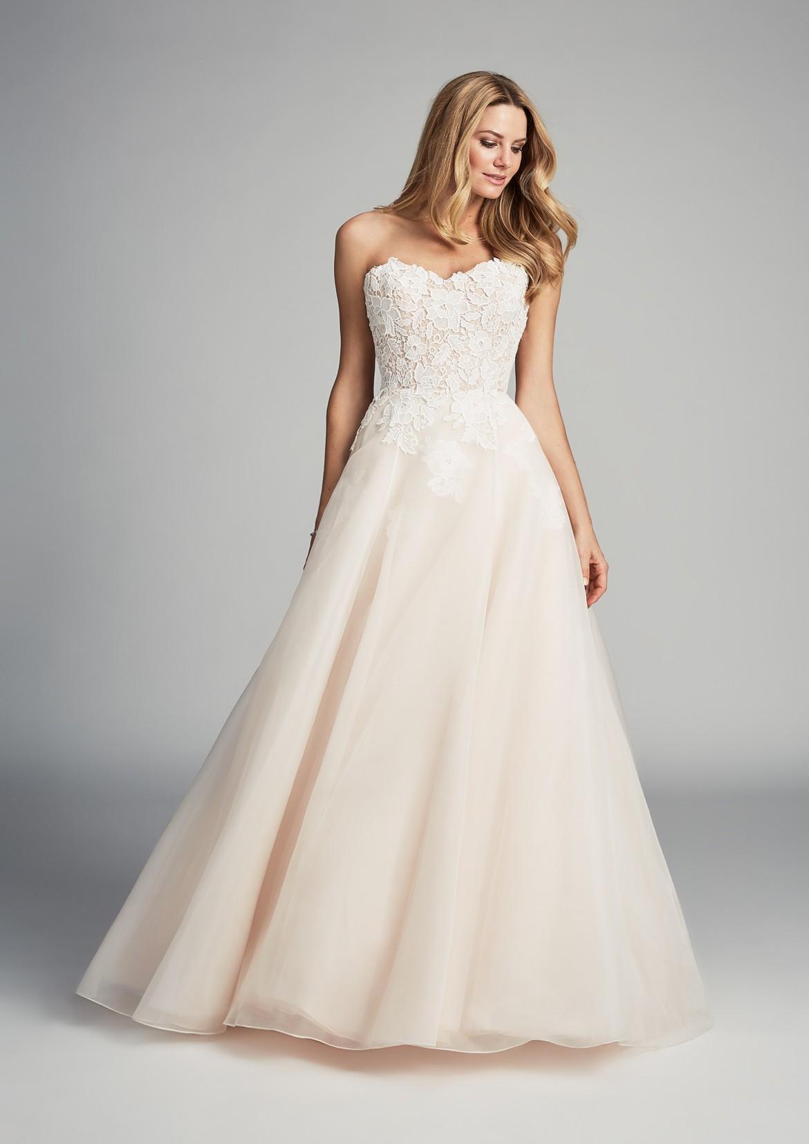 Anniversary designer wedding dress by Caroline Castigliano