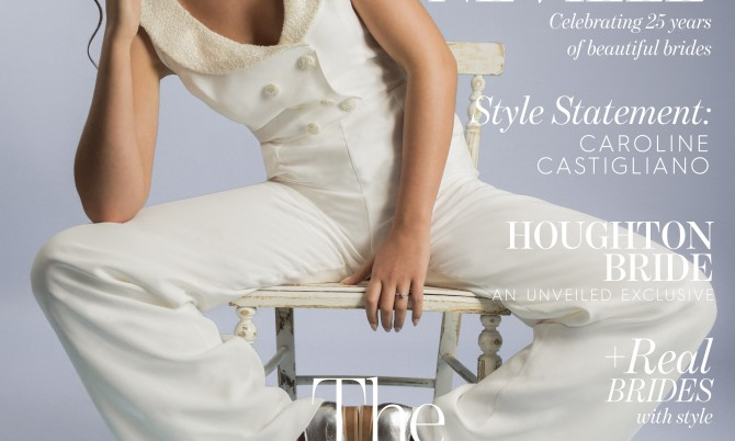 Unveiled designer wedding dresses by Caroline Castigliano