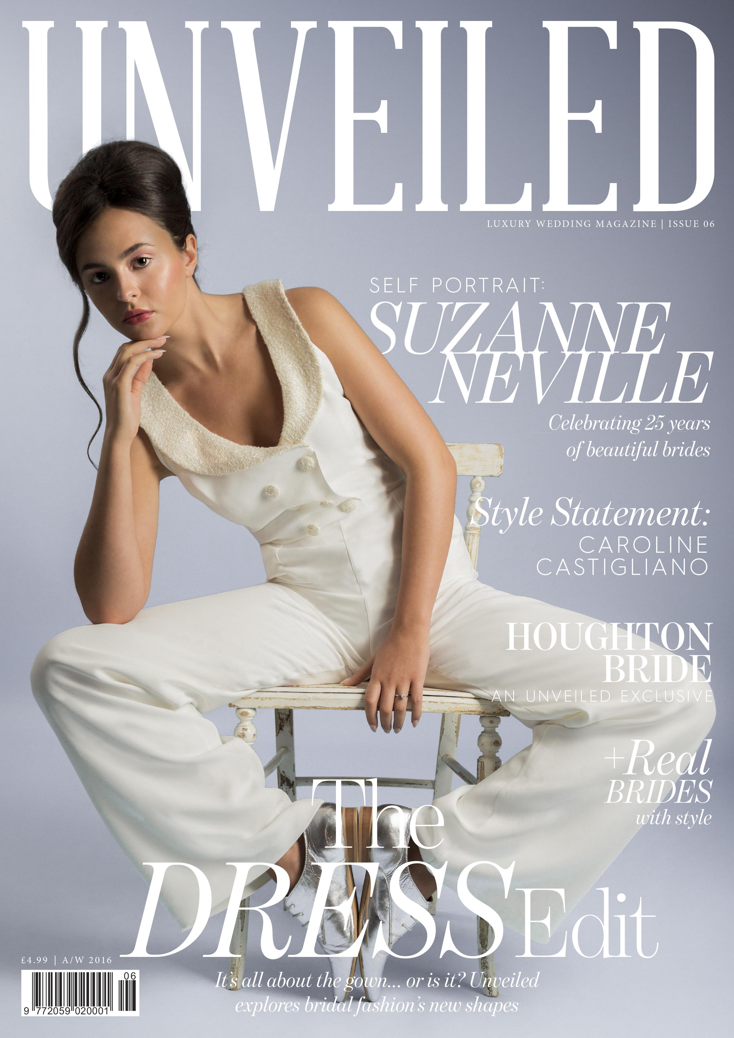 Unveiled designer wedding dresses by Caroline Castigliano