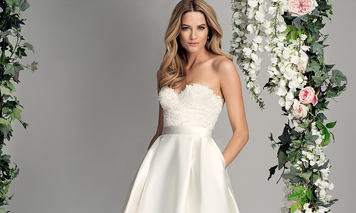 Everlasting designer wedding dresses by Caroline Castigliano