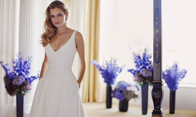 Lyla designer wedding gowns by Caroline Castigliano
