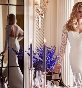 Panache designer wedding gown by Caroline Castigliano
