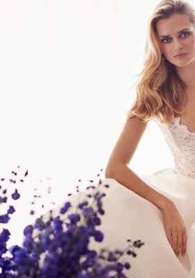 Tertia designer wedding gowns by Caroline Castigliano