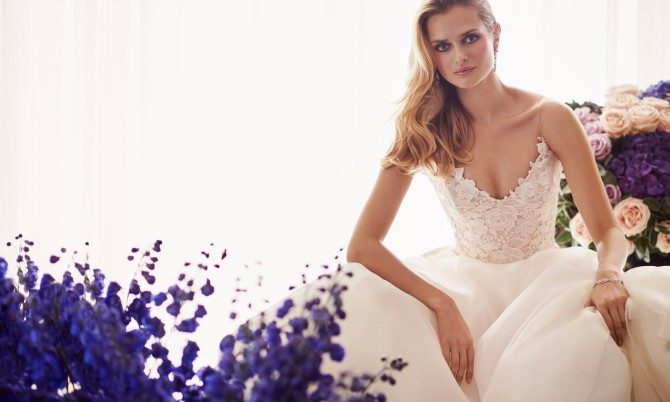 Tertia designer wedding gowns by Caroline Castigliano