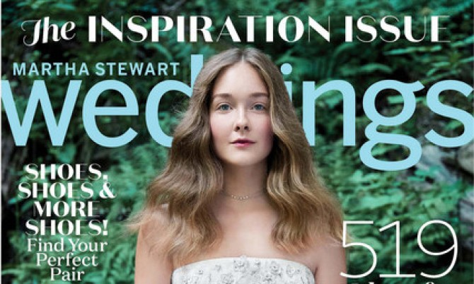 Martha cover designer wedding dresses by Caroline Castigliano