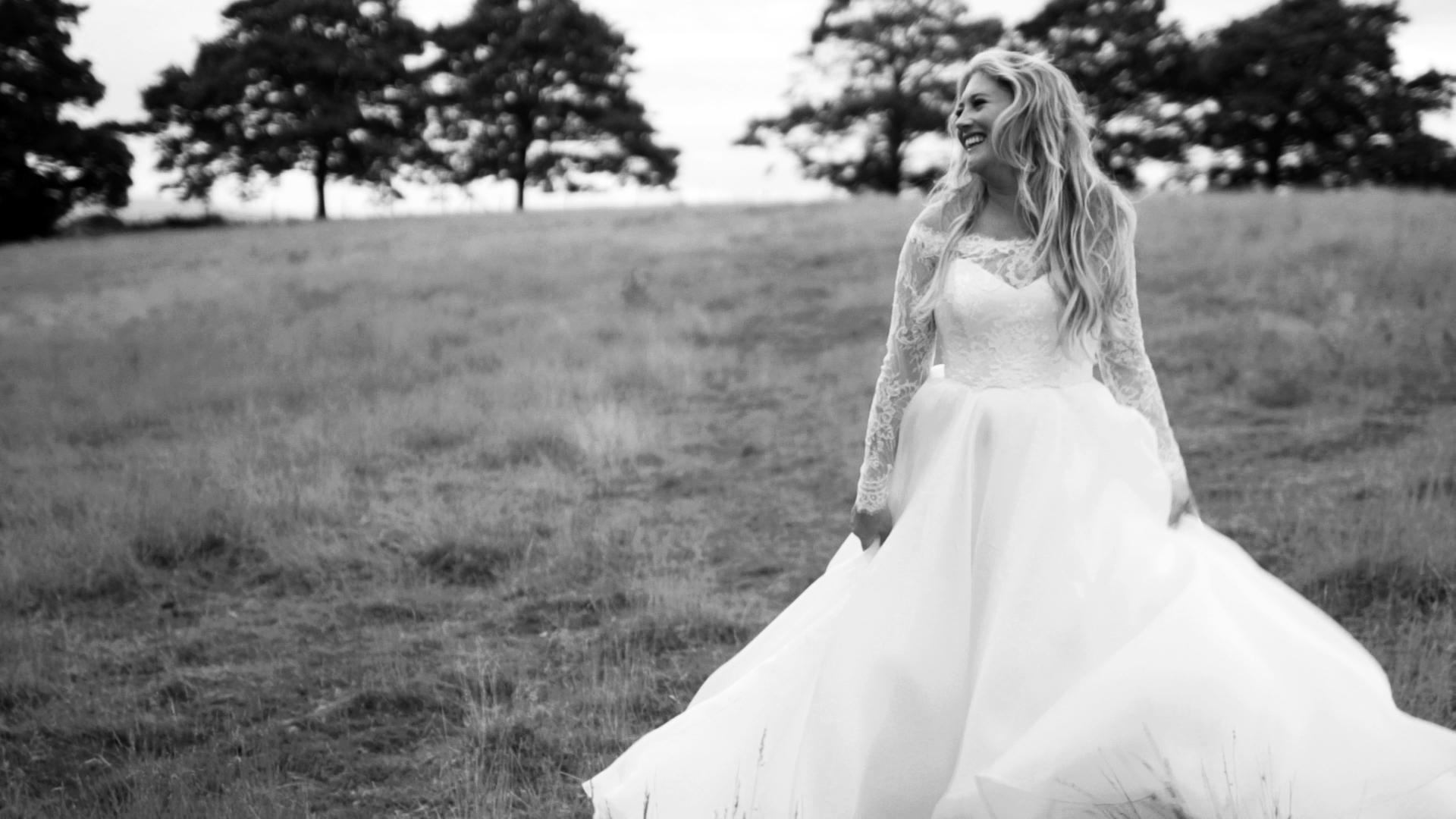 Kendra designer wedding dress by Caroline Castigliano
