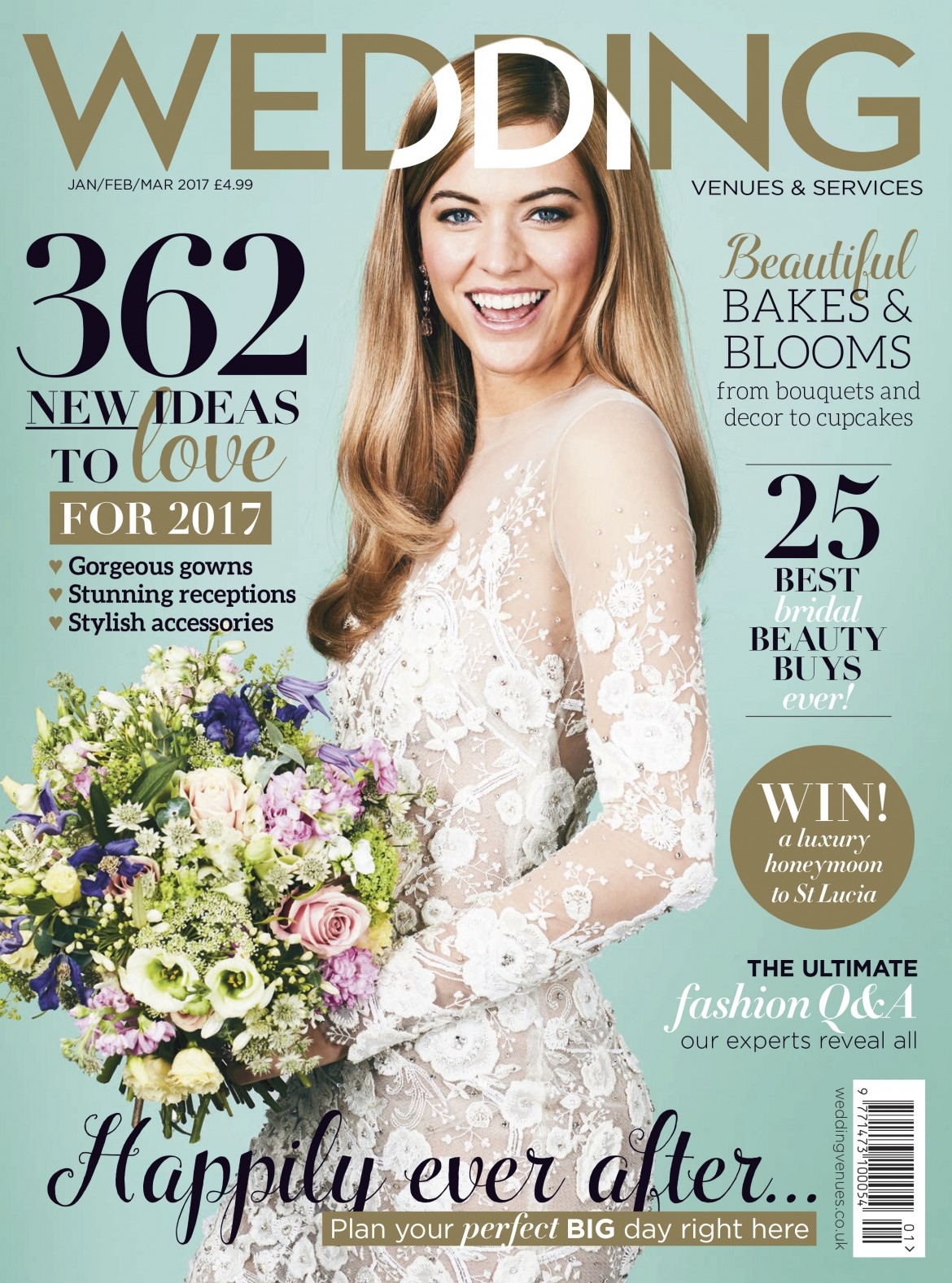 WVs cover designer wedding gowns by Caroline Castigliano
