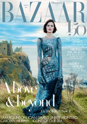 Harpers Bazaar March 2017 Cover