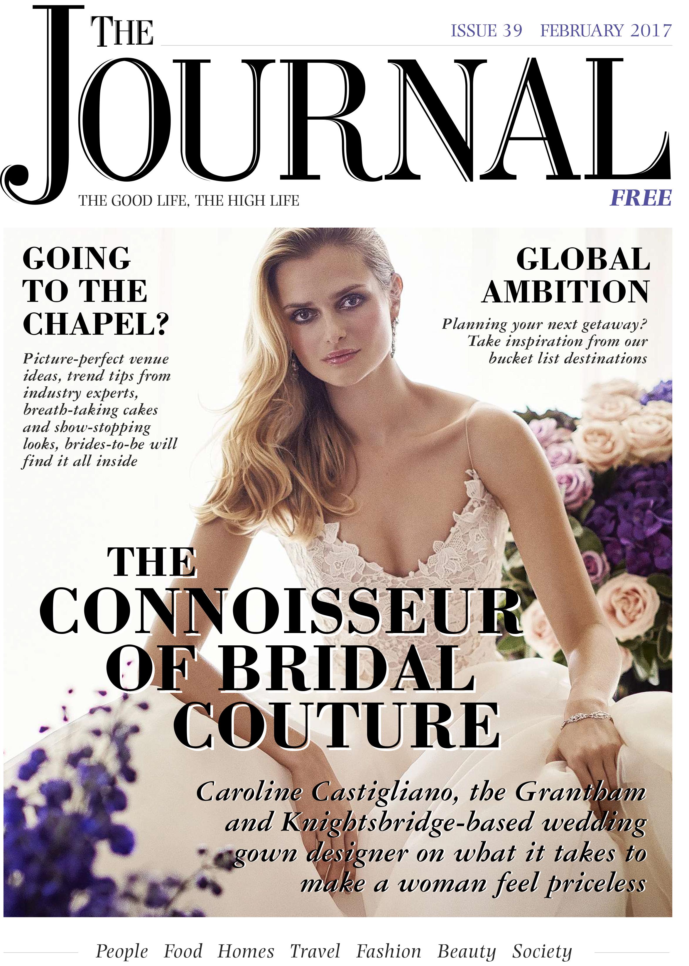 Tertia designer bridalwear by Caroline Castigliano