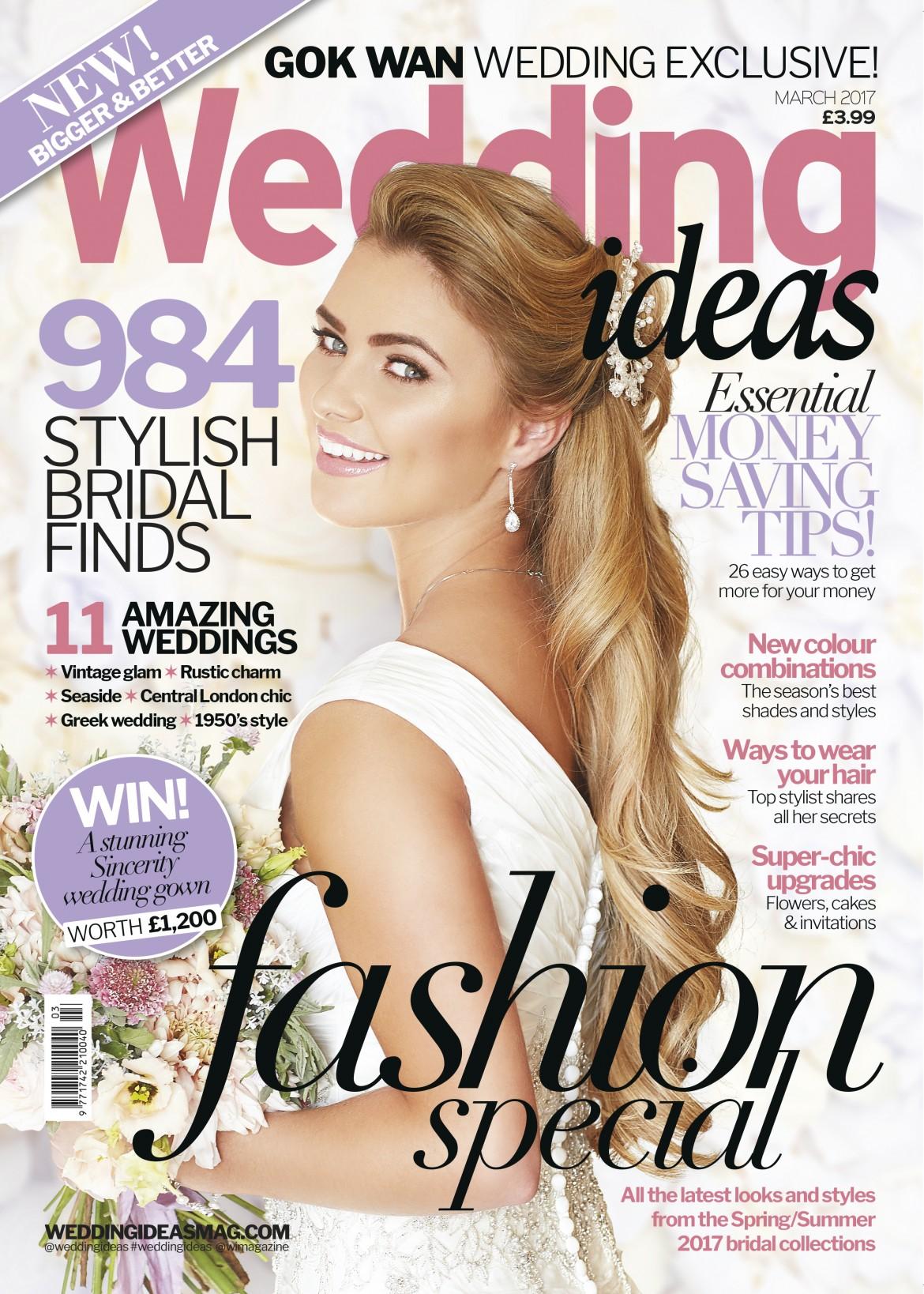 Wedding Ideas Cover designer wedding gowns by Caroline Castigliano