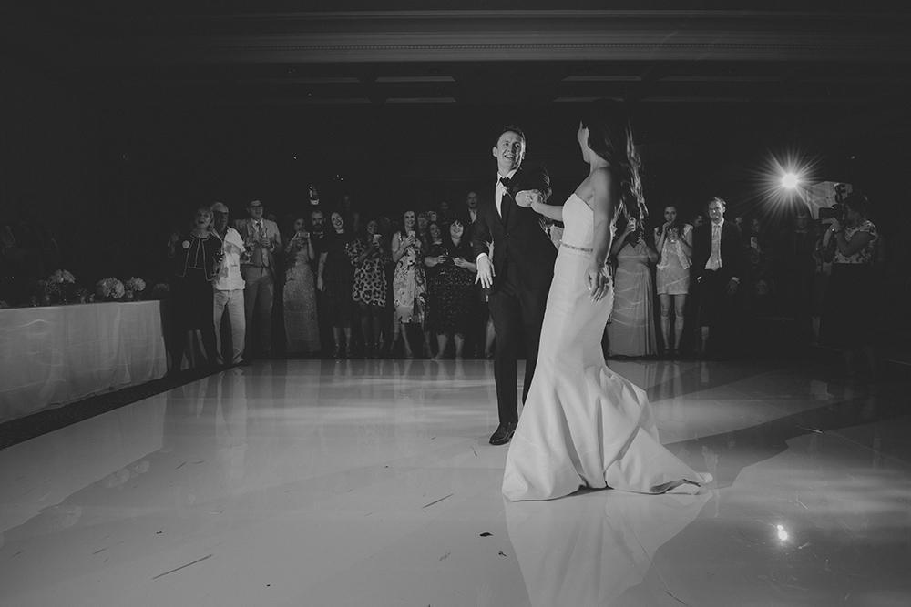 Frances Banham designer wedding dress by Caroline Castigliano