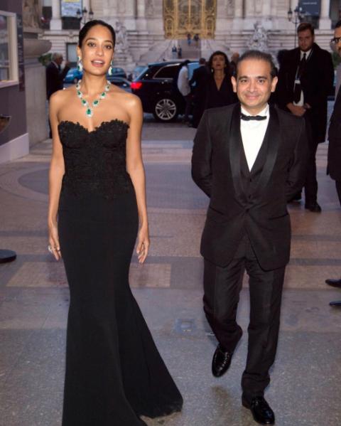 Lisa Haydon wears Caroline Castigliano designer evening dress