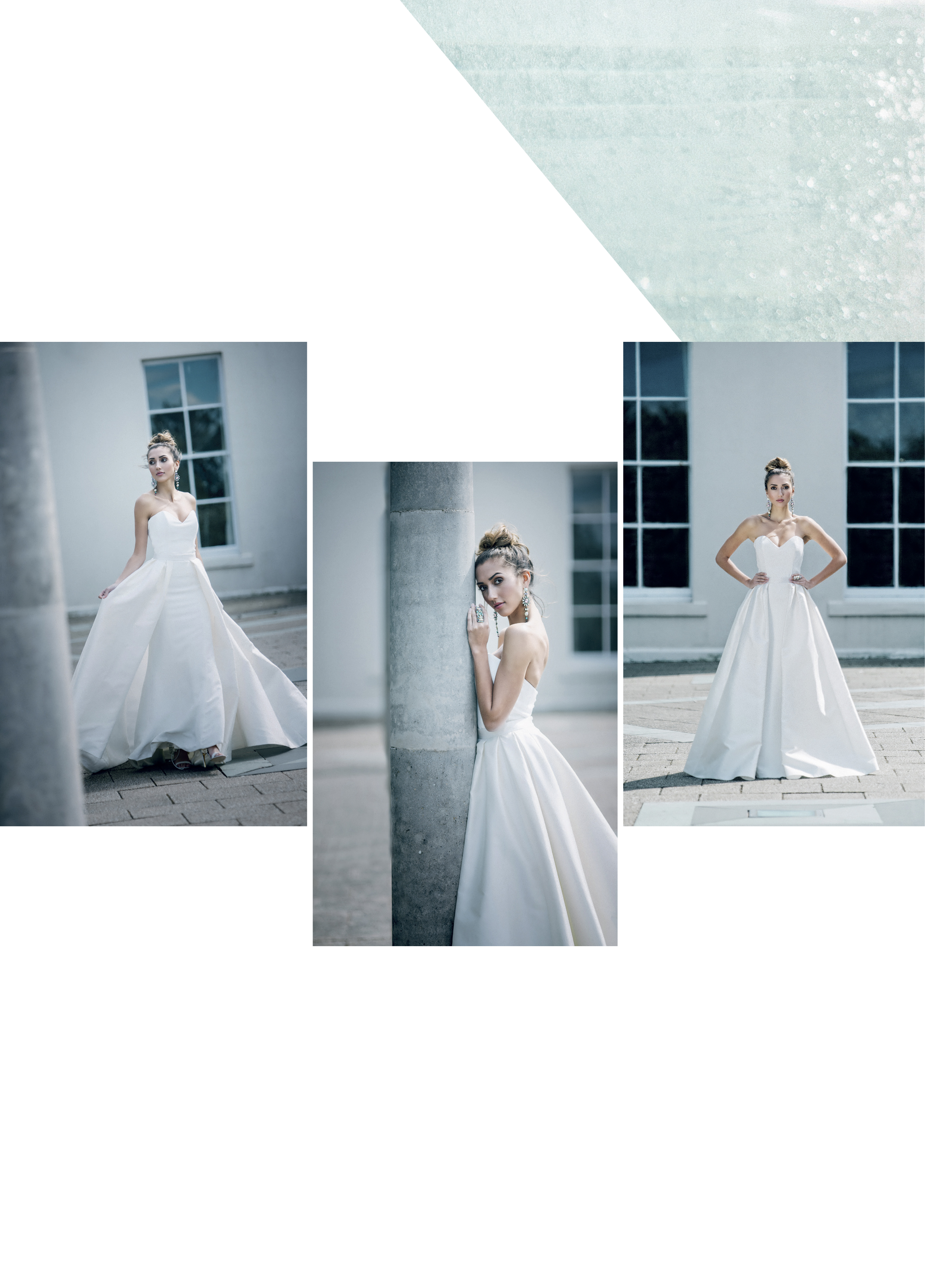 Simplicity designer wedding dress by Caroline Castigliano