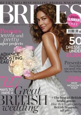 Brides Magazine cover