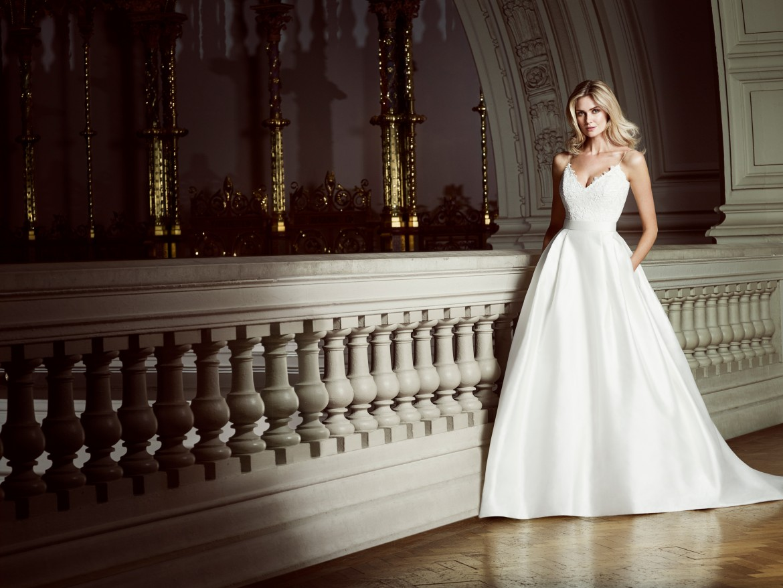 In My Dreams designer wedding dress by Caroline Castigliano