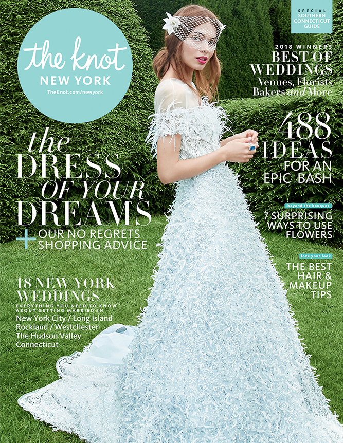 the knot designer wedding dress by Caroline Castigliano
