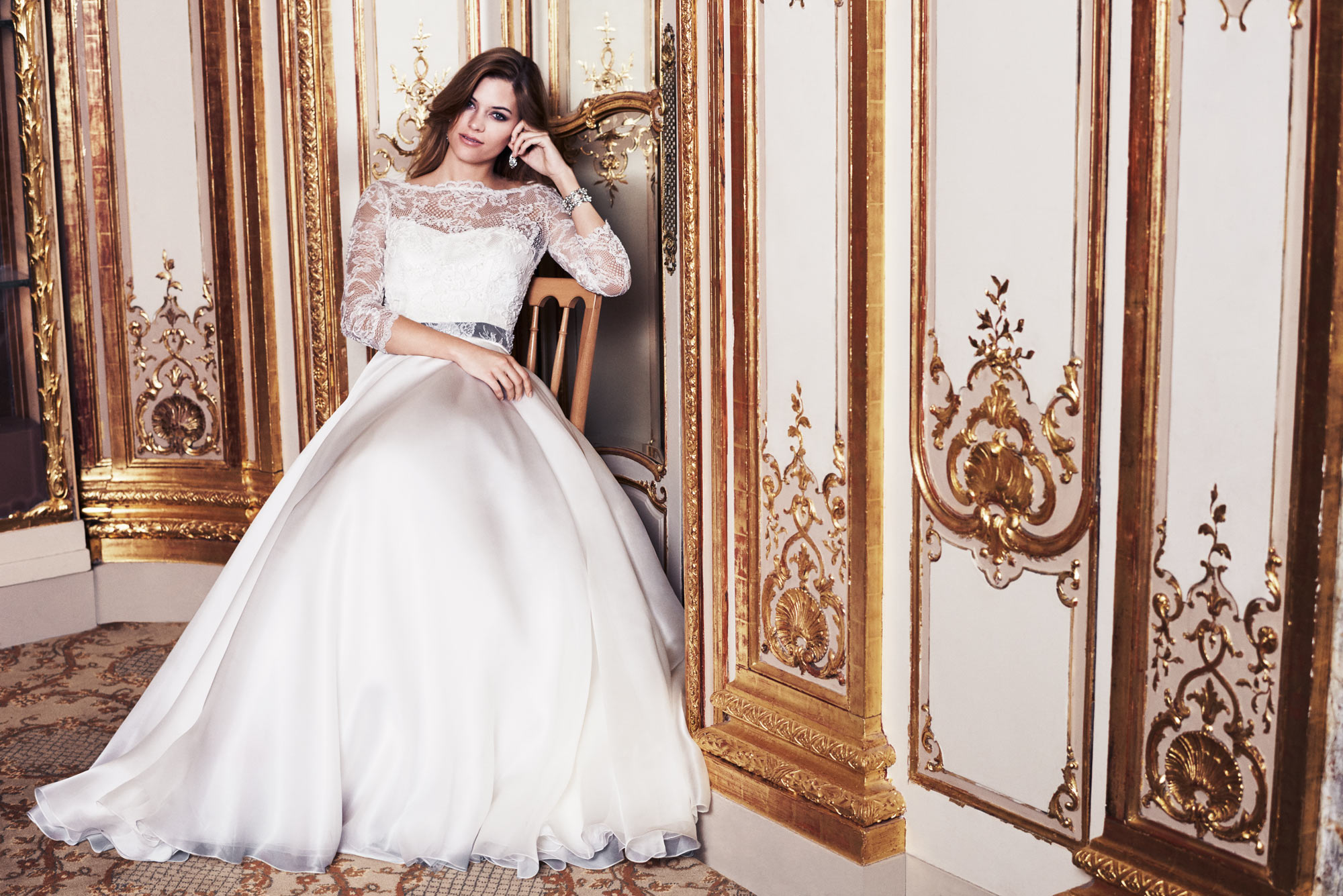 Bellisima designer wedding dresses by Caroline Castigliano