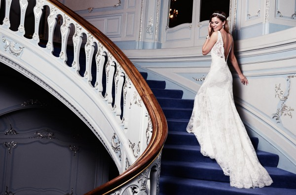 Marseille designer wedding dress from Caroline Castigliano