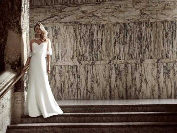 Simplicity designer wedding dress by Caroline Castigliano