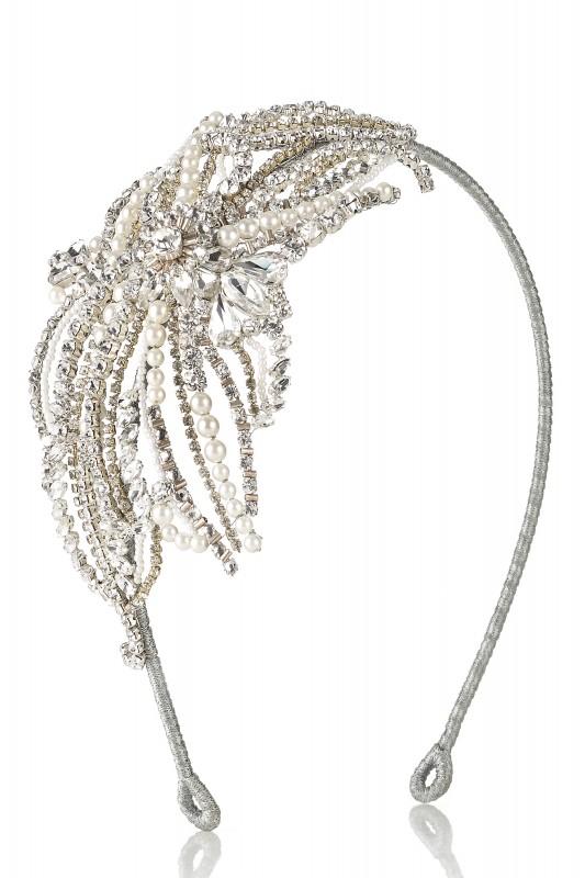 Izabella bridal accesssories by Caroline Castigliano