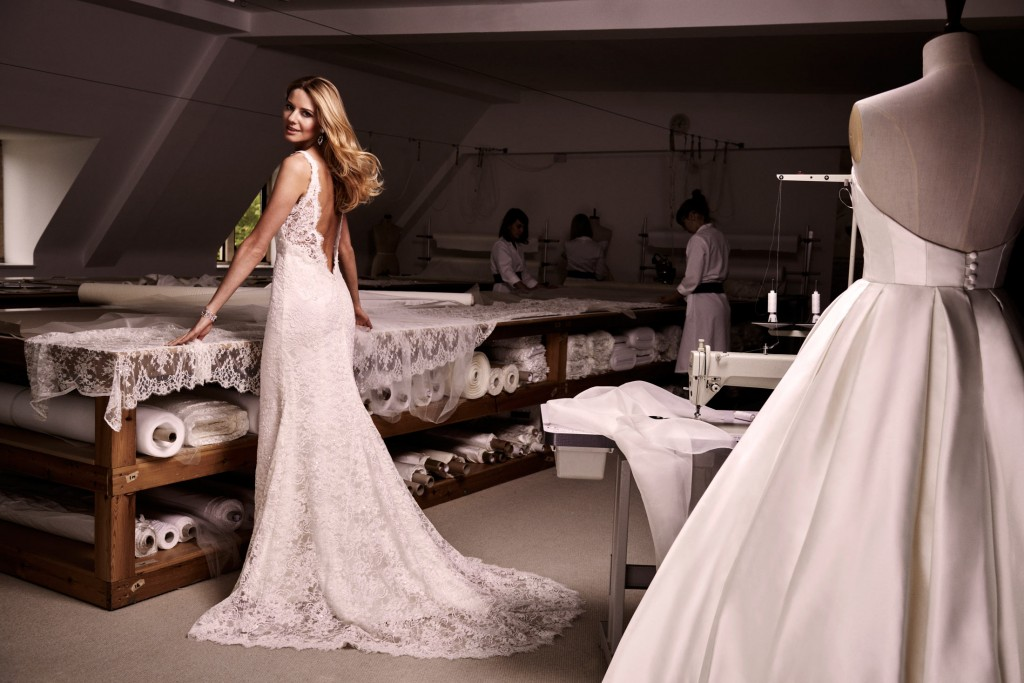 GENESIS designer wedding dress by Caroline Castigliano
