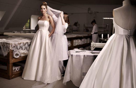 Karolina designer wedding dresses by Caroline Castigliano