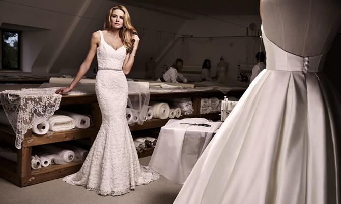 Wonder designer wedding dress by Caroline Castigliano