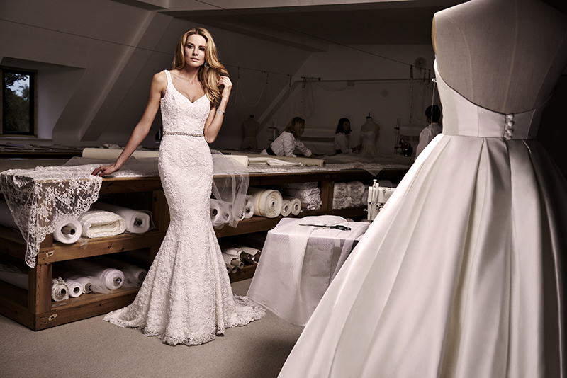 Wonder designer wedding dress by Caroline Castigliano