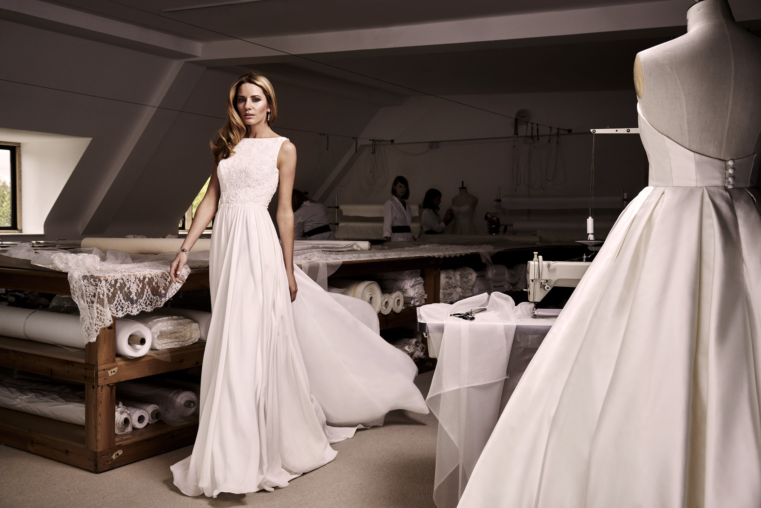 Lily designer wedding dresses by Caroline Castigliano