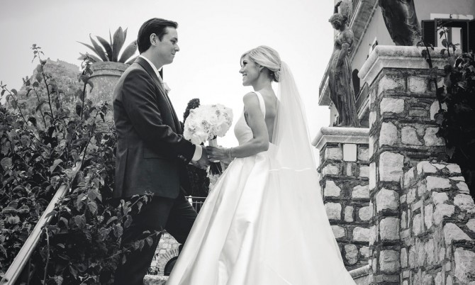 Castigliano bride Naomi Always designer wedding dresses by Caroline Castigliano