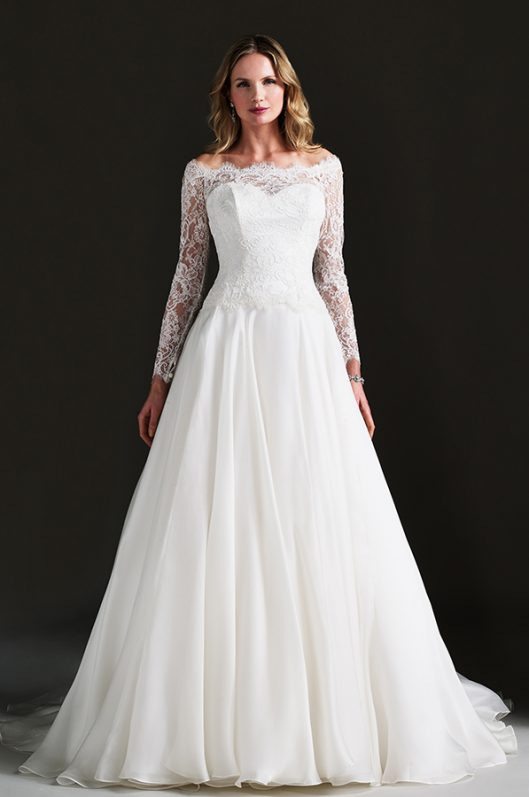Bellini designer wedding dress by Caroline Castigliano