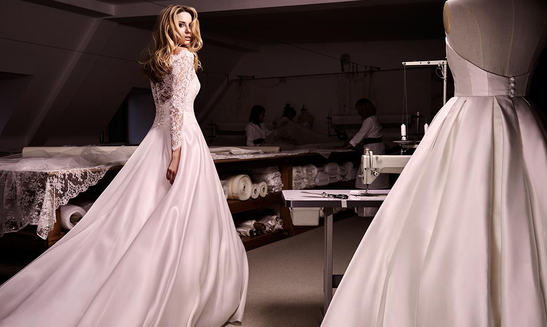 Bellini designer wedding dress by Caroline Castigliano