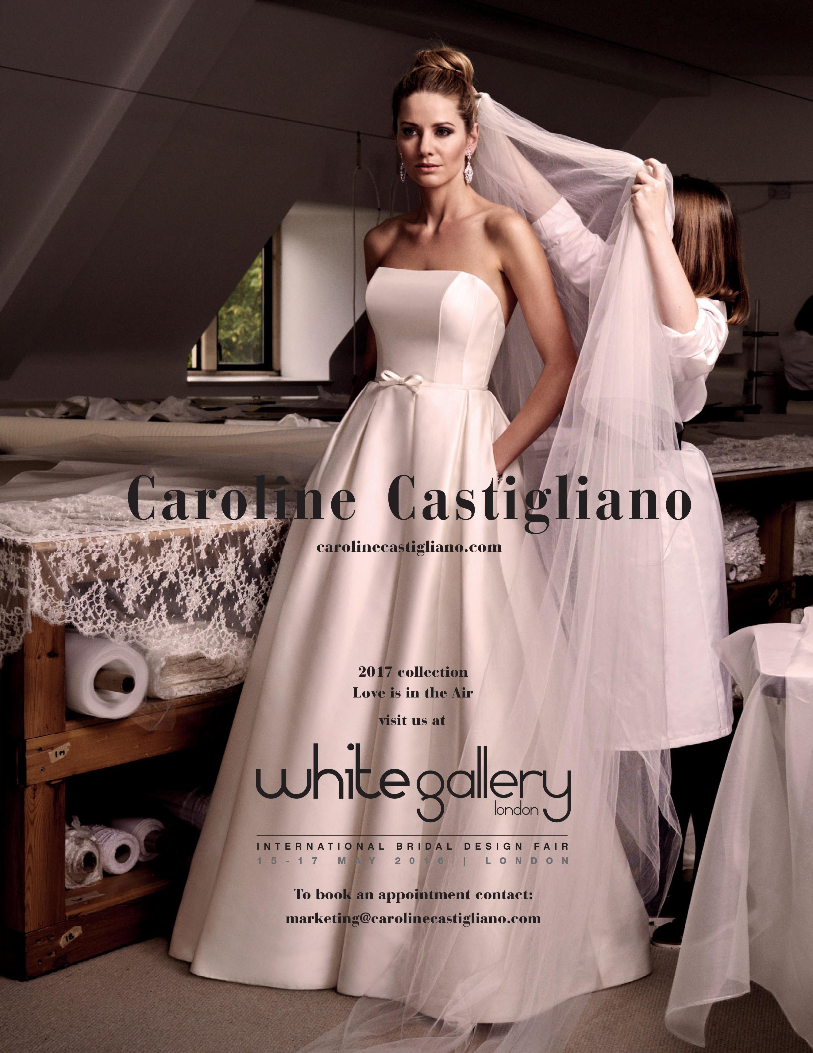 BRIDAL BUYER 2 designer wedding dresses by Caroline Castigliano